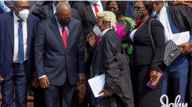 Mahama ask Supreme Court to halt ongoing election petition