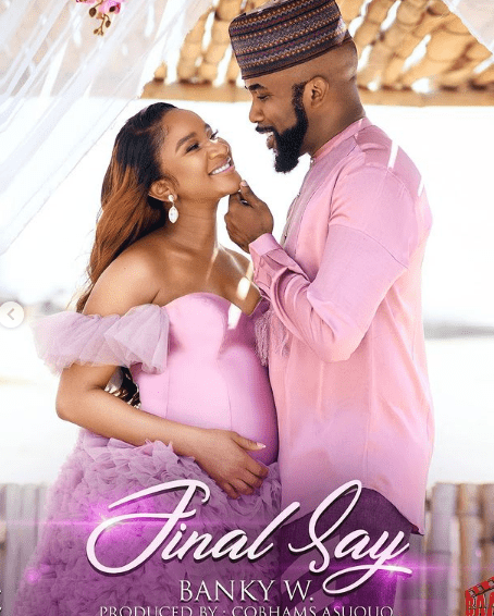 Celebrity couple, Banky W and Adesua welcomes first child