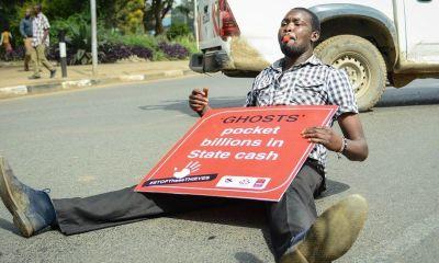 Kenya IMF protest