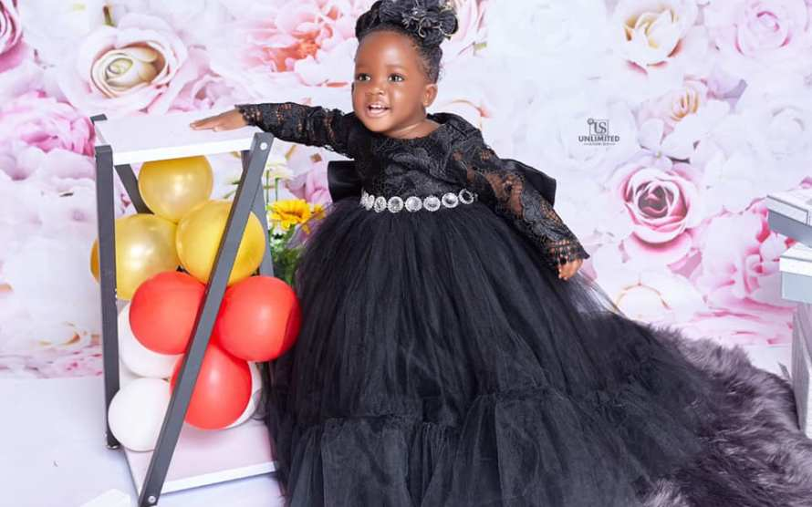 Youngest Kumerican billionaire turns one today: see how she celebrated the day