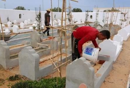 Tunisia opens Garden of Africa cemetery for Mediterranean migrants