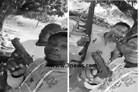 Gun-toting youngmen threaten to sue media houses over viral video
