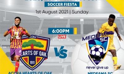 MTN FA Cup semi-finals: Berekum Chelsea to face Ashantigold, Medeama and Hearts lock horns