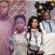 Afia and family