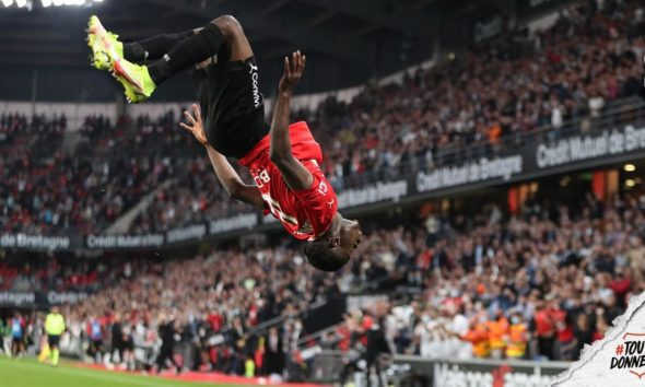 Ghana's Kamaldeen Sulemana becomes the second youngest player to score a double in French Ligue 1
