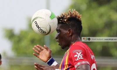 I will do my possible best to get Benjamin Afutu back to the team – Hearts coach Samuel Boadu