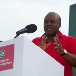 Mahama blames high tariff on power theft