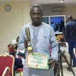 Sly Collins Grabs Award
