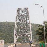President Mahama reopens Adomi Bridge