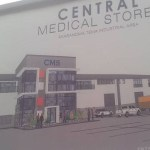 Ghc8m to reconstruct Central Medical Store