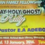 Thousands troop to UI as Adeboye hosts RCCG service