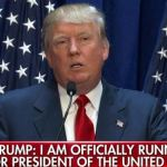 Why I'm ashamed to be Republican -U.S. presidential candidate Donald Trump
