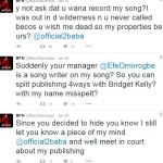 Blackface threatens to drag 2face to court for stealing his song