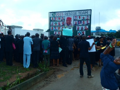 File: Protesting Imo workers
