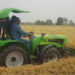 Mahama marks 3rd anniversary on rice farm
