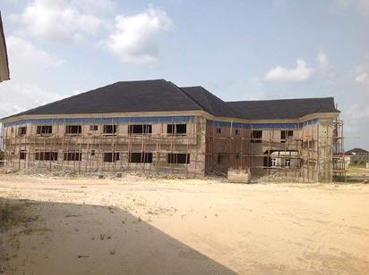 The Maritime University site in Okerenkoko