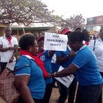 Photos: Workers march to protest harsh economic conditions