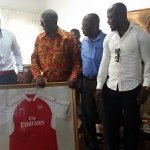 Sol Campbell, Appiah call on Kufuor
