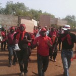 Tamale: Photos from workers demo