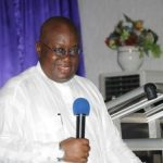 Akufo-Addo stranded at Dambai river
