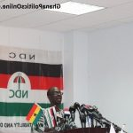 NDC shall accept no abusive language endorsing Mahama