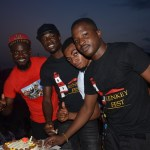 Celebrity Journalist surprises Kwaku Manu with a birthday cake