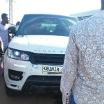 Obinim's Range Rover crashes into child