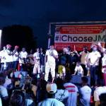 #iChooseJM Rally Amass Huge Crowd At Odododiodio