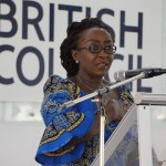 Dzifa Gomashie speaks at Global African Women's Conference