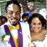 Kwaw Kese and Pokua's white wedding