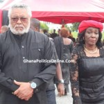President John Mahama,Rawlings,Kufuor, Others at JB Danquah's funeral [Photos]