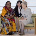 Tokyo: First Lady talks about success story; plans to end child marriage