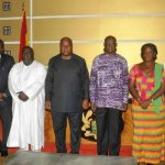 President Mahama Swears In Civil Service Council