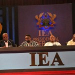IEA presidential debate comes off November 22