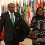 President Mahama, Lordina arrive in Japan