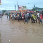 Heavy Downpour Floods wreak havoc in Accra, Tema