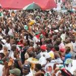 NDC supporters destroy Mahama posters over Montie 3 imprisonment