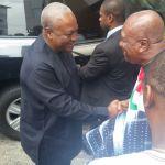 President John Mahama is today [Friday]