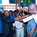 Mahama promises Madina residents new hospital, SHS, market