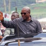 President John Mahama  storms Upper East Region today with the 'Accounting to the People' Tour.