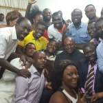 Kumawood stars shoot endorsement videos for Mahama