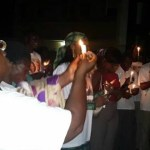 Candle light vigil held for 'Montie 3'