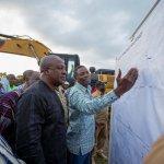President Mahama Breaks-ground To Start Work On Tamme Irrigation Dam