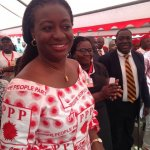 Nduom picks former Miss Ghana as running mate