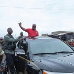President Mahama Educates Kpandai Residents On Proper Voting Procedure