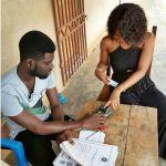 Mzbel Verifies Her Electoral Register ID (Photo)