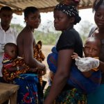 Ghana ranked 165th in infant mortality