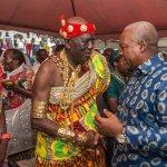 President Mahama Joins Chiefs And People Of Oguaa To Celebrate Oguaa Fetu Afahye
