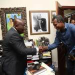 Opposition Song Maker Visits Akufo-Addo's Untidy Office