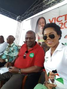 Mzbel and John Mahama